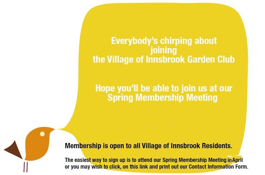 Garden Club Membership Information